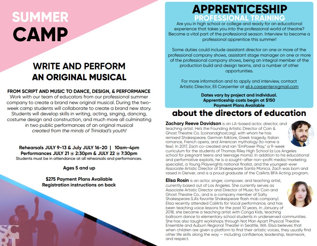 SCRT Summer Camp- Performance | TRINIDAD KIDS AND YOUTH